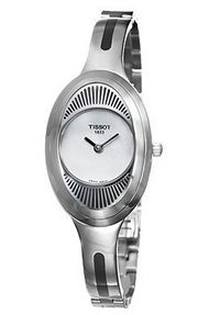 Tissot Women's T03.1.985.80 T-Trend Precious Flower Blue MOP Dial Watch
