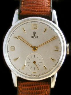 Vintage Rolex Tudor Subseconds Watch